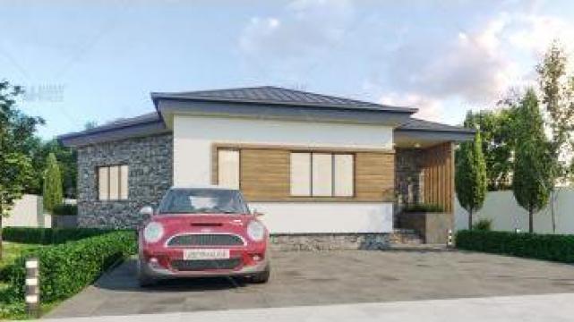 Proiect casa parter (77 mp) - Brita de la S.C. Specific Urban SRL