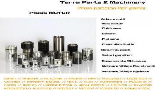 Piese motoare Liebherr de la Terra Parts & Machinery Srl
