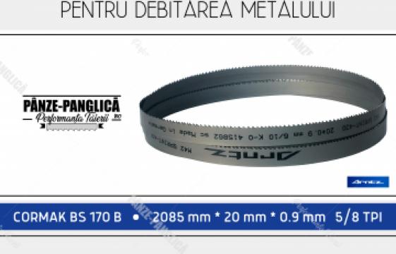 Panza fierastrau panglica metal 2085x20x5/8 Cormak BS 170 B de la Panze Panglica Srl