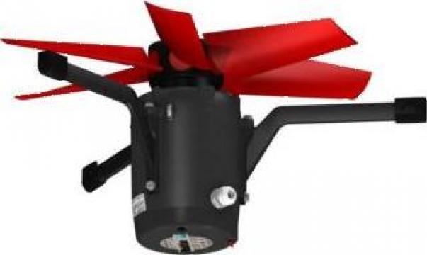 Ventilator tubulatura 92 mm 17500mc