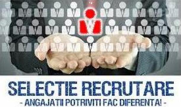 Servicii de recrutare si selectie de personal