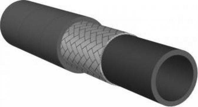 Furtun hidraulic compact din cauciuc Vega 1SC de la Brinkoflex Furtunuri Si Racorduri Srl