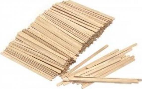 Palete din lemn pentru cafea 11cm 700 buc/cutie de la Cristian Food Industry Srl.