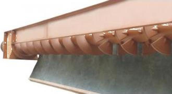 Transportoare cu snec elicoidale pentru beton proaspat de la Proconsil Grup Iasi
