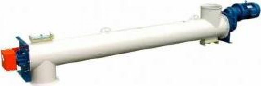Transportoare cu snec elicoidale tubulare-TP-TE de la Proconsil Grup Iasi