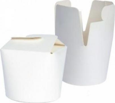 Cutie carton alb noodles 960cc de la Cristian Food Industry Srl.