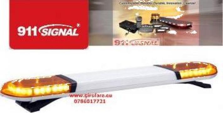 Girofar rampa luminoasa cu led de mare intensitate de la Tehnic & Emergency Light Srl