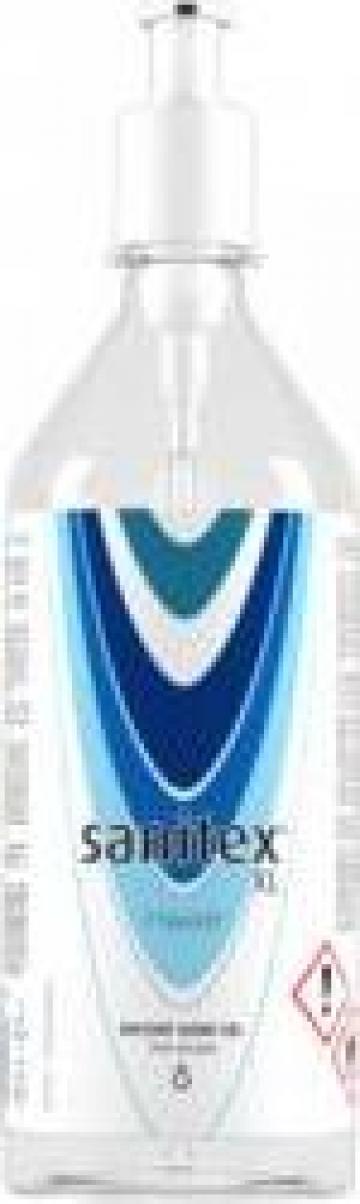 Gel antibacterian instant Sanitex XL 70 % alcool de la Hoba Ecologic Air System Srl