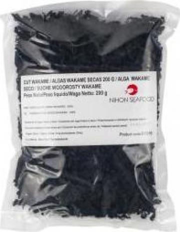 Alge uscate maruntite pentru supa 'Wakame Fueru'