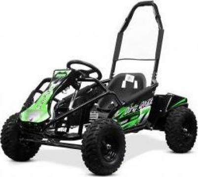 Jucarie, atv Kart electric Nitro GoKid Dirty 1000W 48V Verde