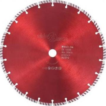 Disc diamantat de taiere cu turbo, otel, 300 mm