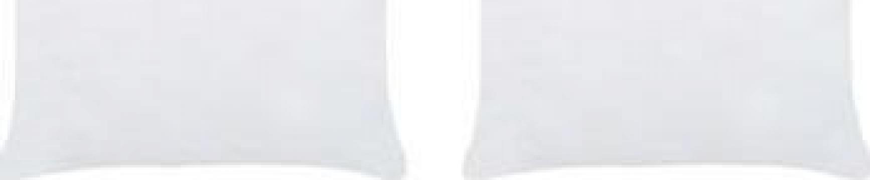 Umpluturi de perne, 2 buc., alb, 40 x 40 cm de la Vidaxl