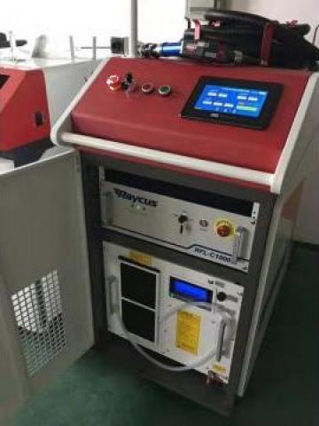 Masina de sudat cu laser fibra