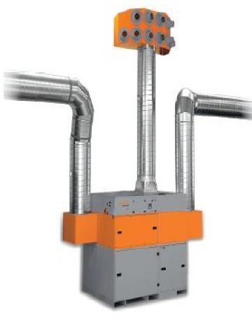 Sistem ventilatie Kemper KemJet 13000 m3 de la Furitech Srl