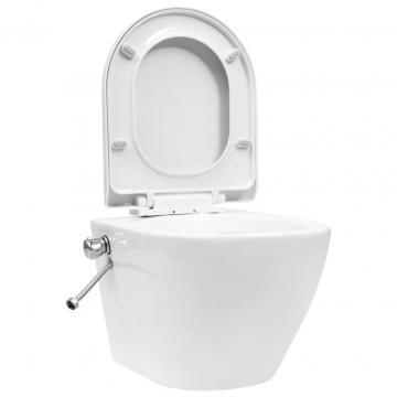 Vas WC suspendat fara rama cu functie de bideu de la Comfy Store