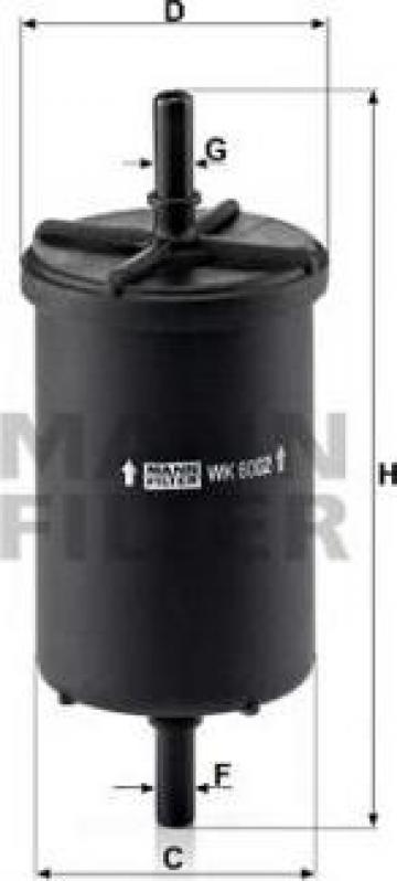 Filtru benzina Sandero/Solenza/Logan 27252
