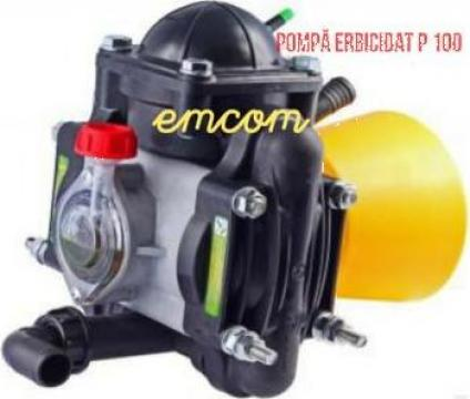 Pompa erbicidat P-100 de la Emcom Invest Serv Srl