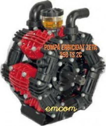 Pompa erbicidat Zeta 260 TS 2C de la Emcom Invest Serv Srl