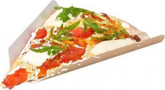 Coltar carton felie pizza 40cm 250 buc/set de la Cristian Food Industry Srl.