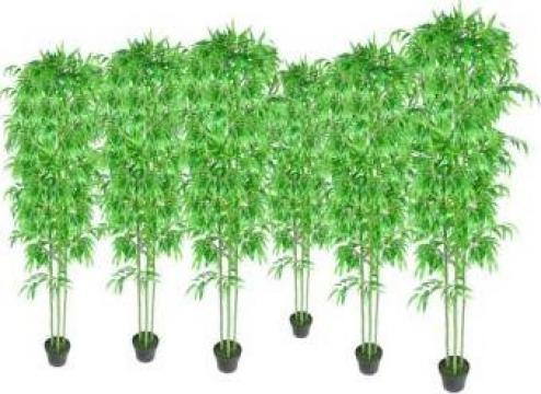 Set 6 decoratiuni plante bambus artificiale de la Vidaxl