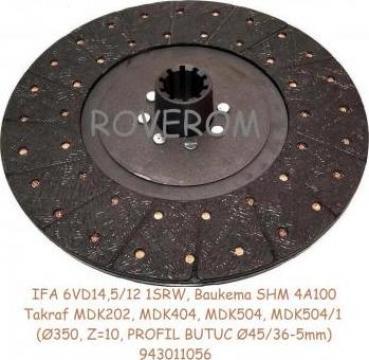 Disc ambreiaj IFA 6VD, Baukema SHM4A, Takraf MDK404, MDK505 de la Roverom Srl