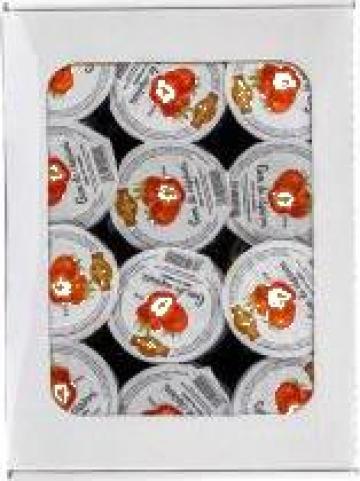 Gem de capsuni la caserola Edesia - cutie 20 g x 48 buc