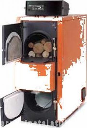 Cazan lemne cu gazeificare Fuego FU 150 R de la PFA Chivaru Corneliu