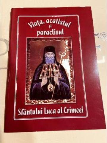 Carte, Viata, Acatistul si Paraclisul Sfantului Luca de la Candela Criscom Srl.