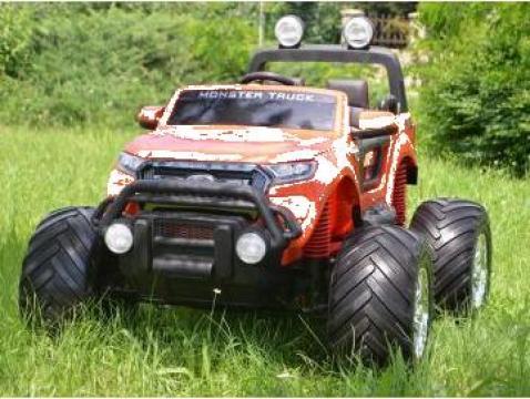 Jucarie masinuta electrica Ford Monster Truck 4x4 180W 12V