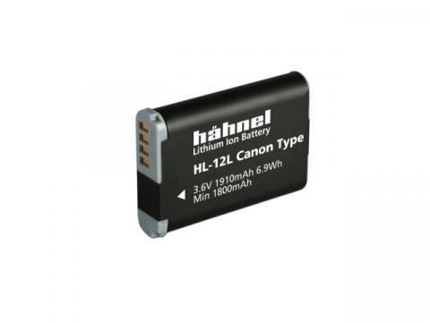 Acumulator Hahnel HL-12L Canon NB-12L 1910mAh de la Color Data Srl