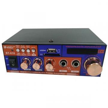 Amplificator audio cu bluetooth pentru karaoke BT-618