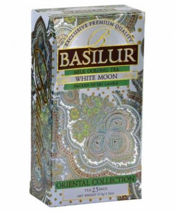 Ceai verde White Moon Oriental Collection Basilur 37.5g de la KraftAdvertising Srl
