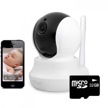 Baby monitor wireless JT160BW, telefon, monitorizare video