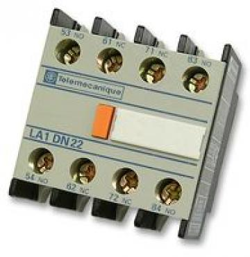 Bloc contacte auxiliare Telemecanique LA1DN22