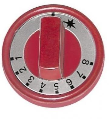 Buton termostat de gaz 1-8, 76 mm