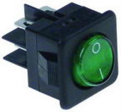 Buton verde basculant 27,8x25mm