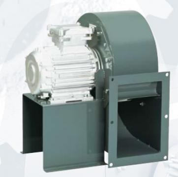 Ventilator centrifugal 400 grd CHMT/4- 450/185-5,5 de la Ventdepot Srl