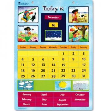 Jucarie Calendar educativ magnetic de la A&P Collections Online Srl-d