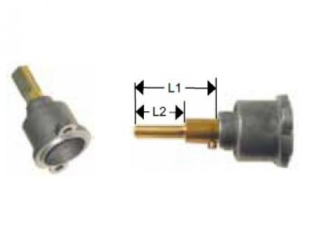Cap robinet gaz PEL 22 lungime ax 45/20mm de la Kalva Solutions Srl