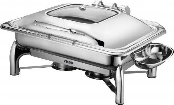 Chafing dish electric cu inchidere automata, 1/1 GN Rainer de la Clever Services SRL