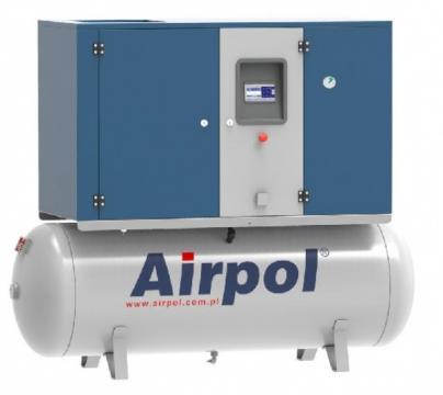 Compresor cu surub si uscator Airpol KT11 de la Tehnic Depo Srl