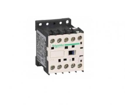 Contactor 4kW, 12VDC, 4poli (2NO+2NC) de la Kalva Solutions Srl