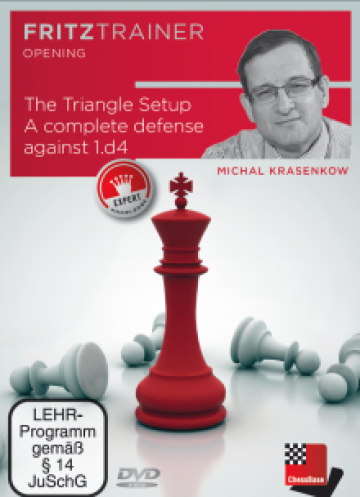 Carte, DVD Krasenkov: The Triangle Setup de la Chess Events Srl