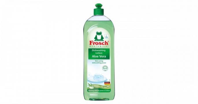 Detergent lichid de spalat vase cu Aloe vera Frosch 750ml