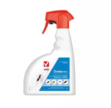 Insecticid Draker RTU 1 litru de la Impotrivadaunatorilor.ro