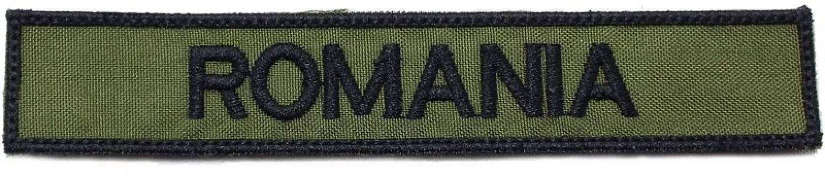 Ecuson militar brodat