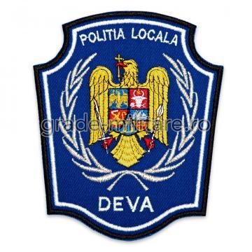 Emblema brodata Politia Locala 3 de la Hyperion Trade