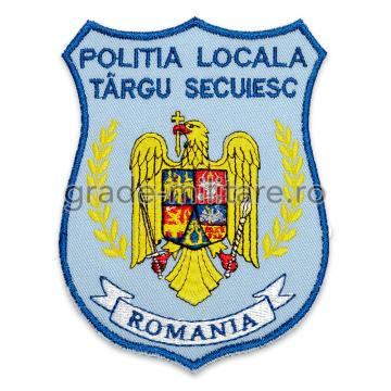 Emblema brodata Politia Locala 4 personalizabila de la Hyperion Trade