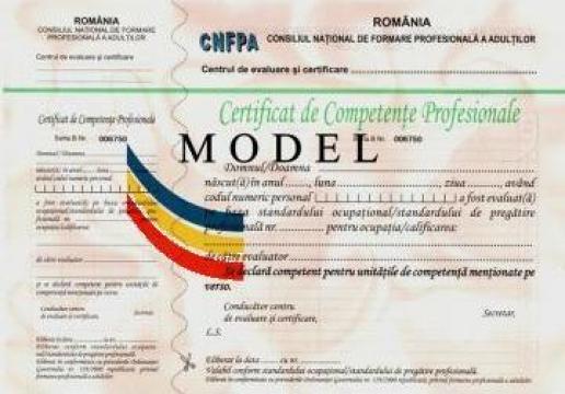 Evaluare competente profesionale Sudor electric de la Estetic Clas Medias
