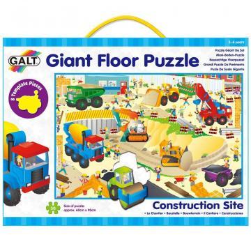 Puzzle Giant Floor Santierul (30 piese)